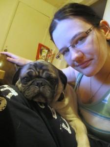 frank lap cuddle
