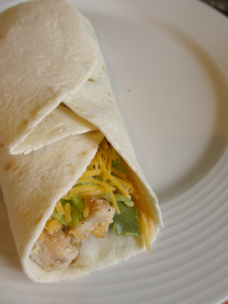 Quick and easy homemade chicken caesar wraps one pan weeknight meal idea