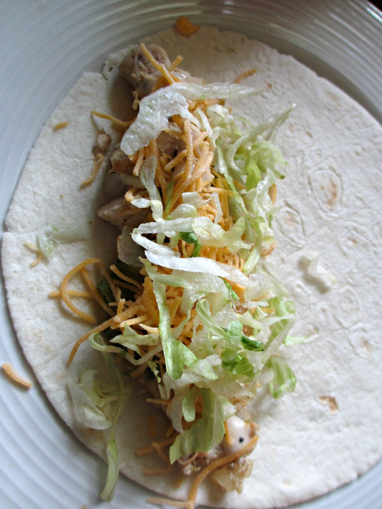 Chicken ceasar wraps homemade recipe