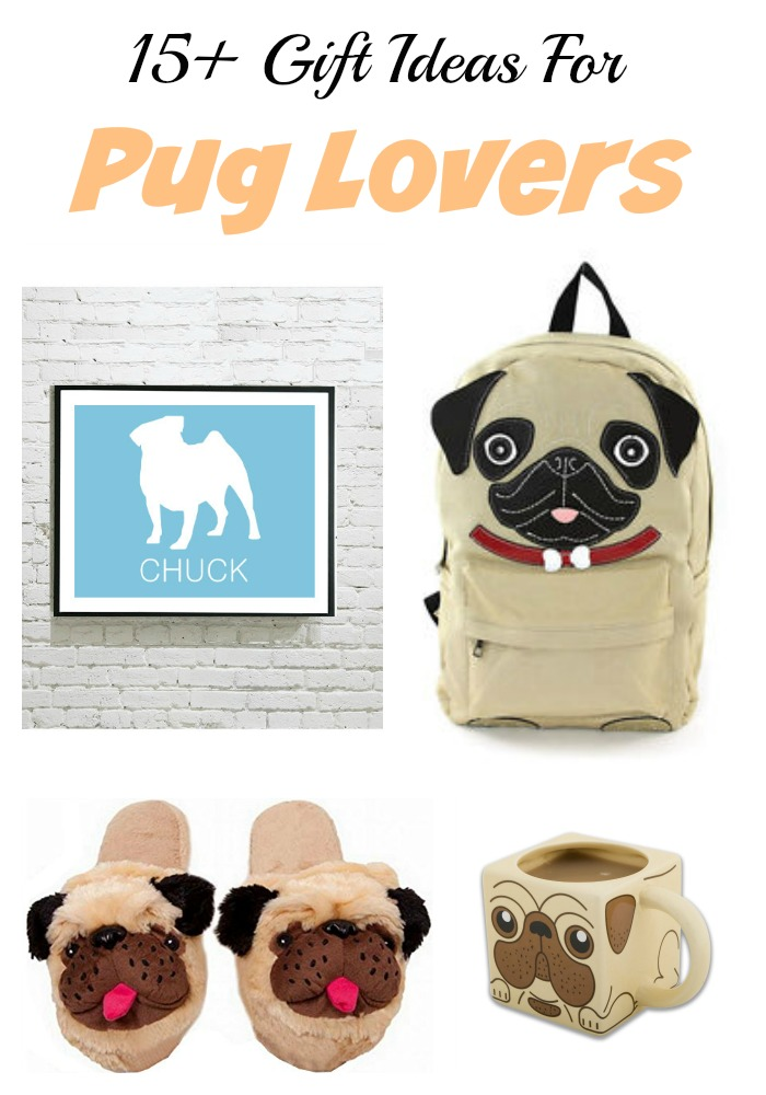 Gift guide: pug lover gift ideas