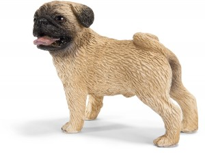 pug mini figurine