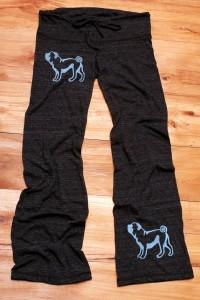 Pug yoga pants