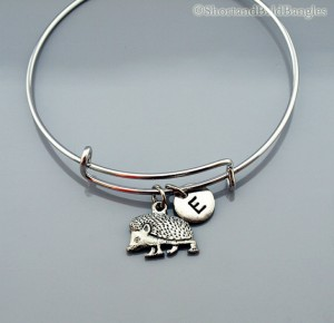 Hedgehog bangle bracelet