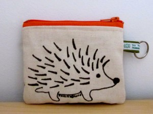 Hedgehog coin purse