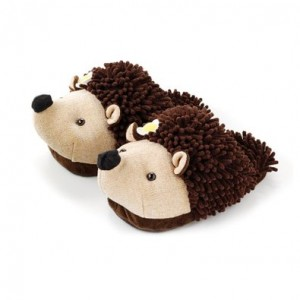 women's hedgehog slippers