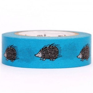 hedgehog masking washi tape