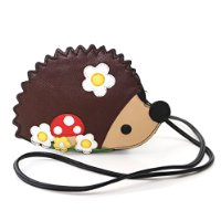 children's hedgehog purse