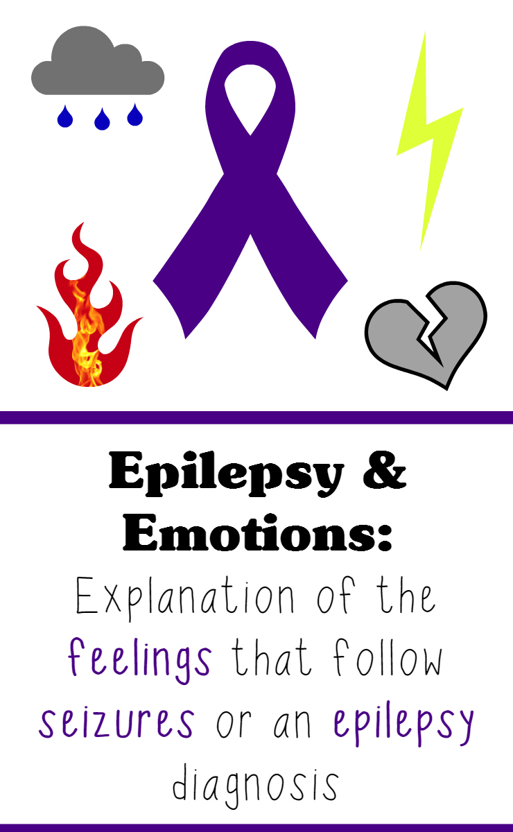 Having seizures and getting an epilepsy diagnosis can bring about a roller coaster of emotions for the person who had the seizure and their loved ones. This blog post lists which emotions can come up after seizure and diagnosis, plus the thoughts behind those feelings.