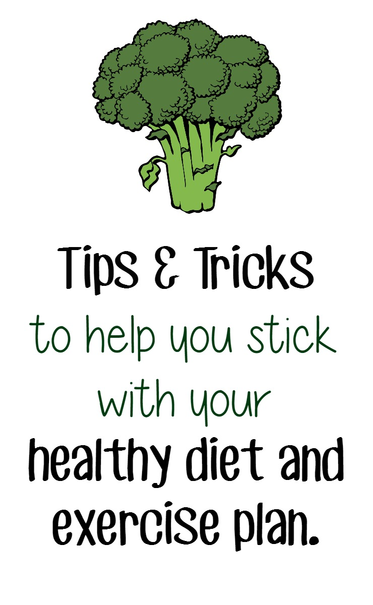 tips and tricks for enjoying your diet and exercise plan. How to make your diet a long term commitment that you don't hate so you can stick with it.