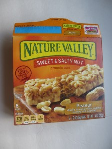 nature valley sweet and salty peanut butter