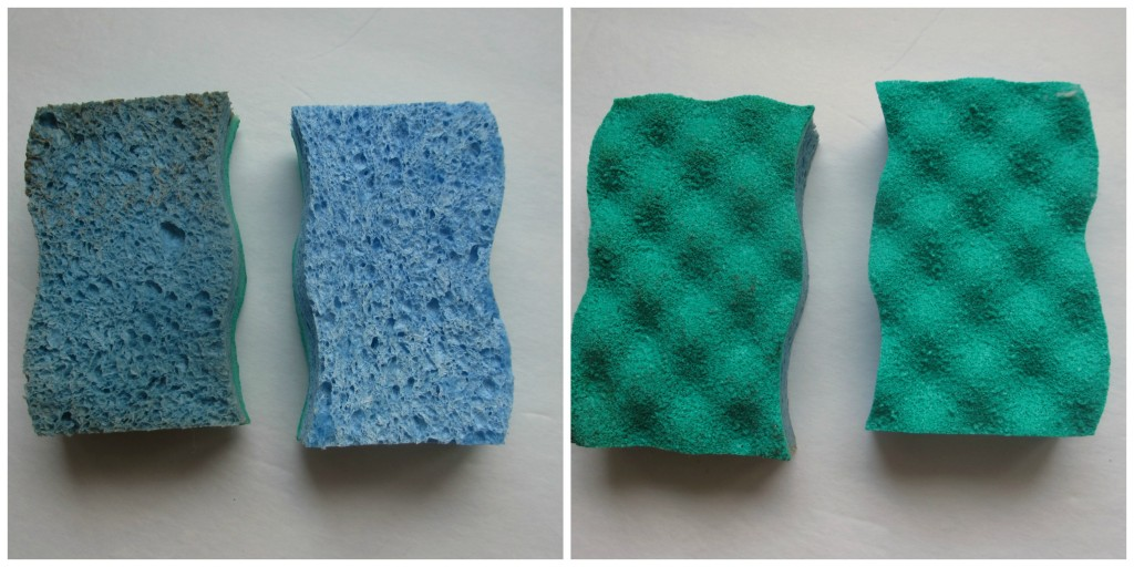O-cedar non-scratch sponge