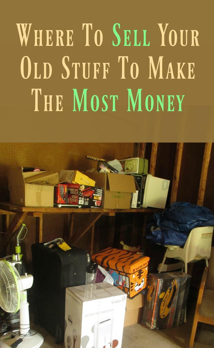 Tips for selling your old stuff to make money