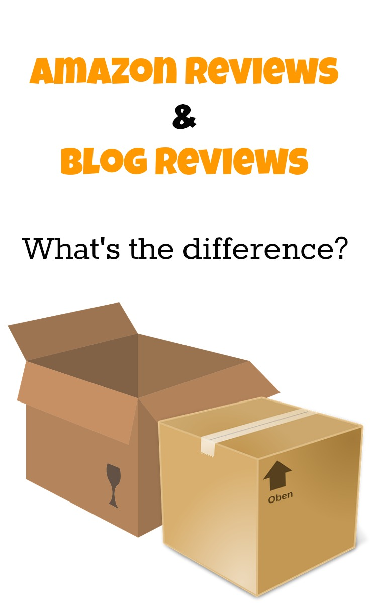 amazon reviewers and blog reviews what's the difference. Benefits of amazon reviews compared to blog reviews.