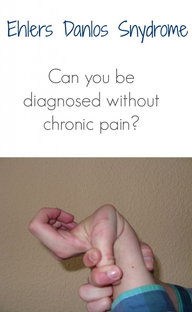 ehlers danlos syndrome without pain