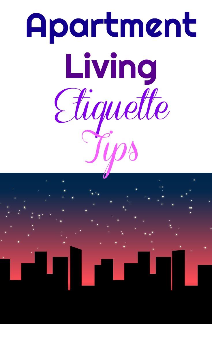 apartment building etiquette