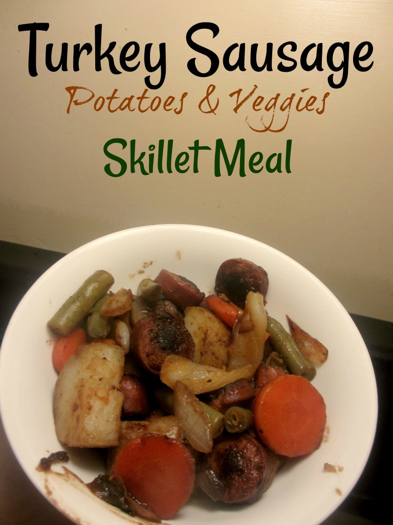 turkey sausage potatoes and veggies skillet meal